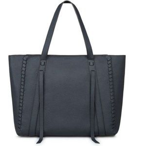 ALLSAINTS Navy Ray East West Tote